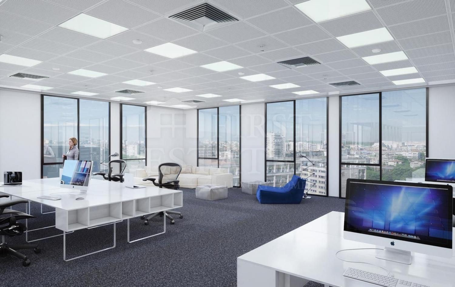 3000 m² office for rent