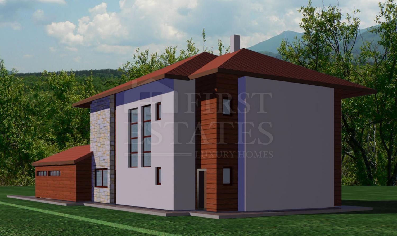 725 m² парцел